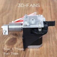 3d принтер частей titan экструдер полностью комплекты для настольных fdm reprap mk8 коссель j-глава боуден prusa i3 монтажный кронштейн 1.75 мм