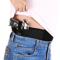 Ultimate Belly Band Holster For Concealed Carry Fits Gun Glock P238 Ruger LCP And Similar Sized