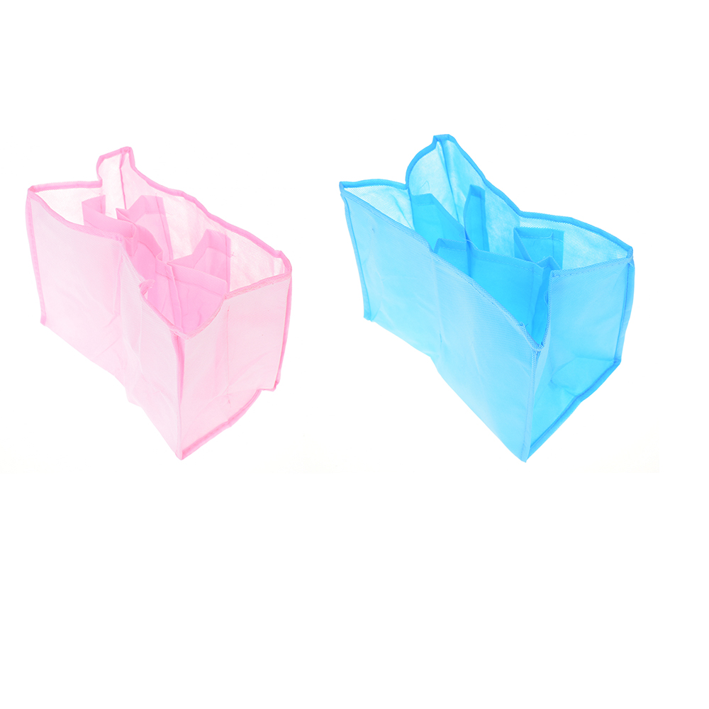New 1PC Baby Portable Pouch Diaper Nappy Water Bottle Changing Divider Storage Organizer Bag