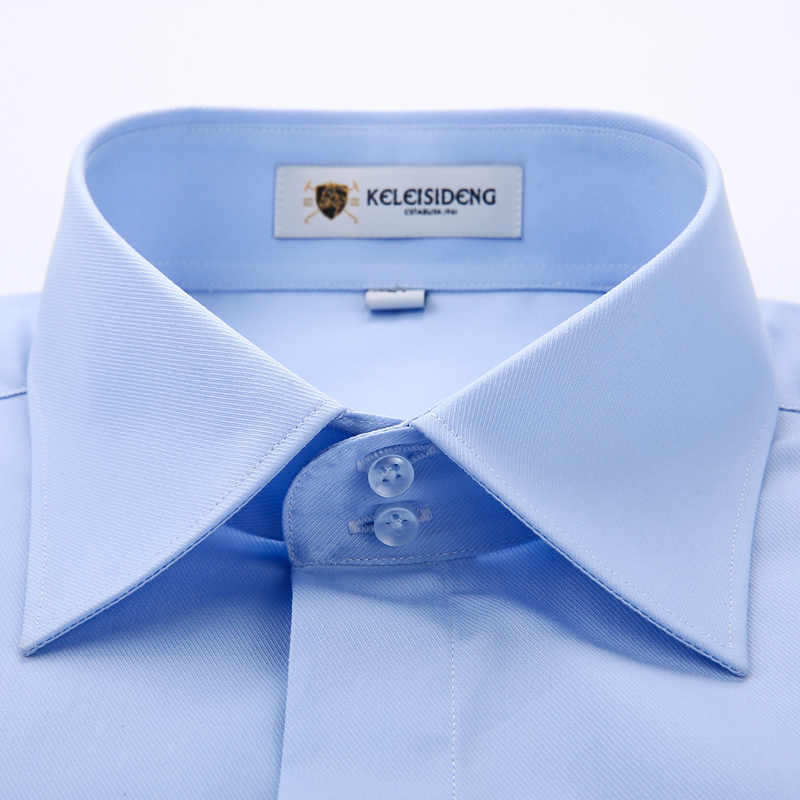 宴会結婚式の男性シャツ長袖カバーフロントフランス良質ソフト正式な男性のシャツ (カフス)