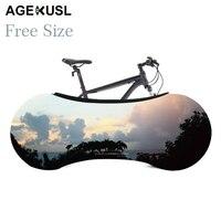 Свободный размер AGEKUSL велосипед пылезащитный чехол Велосипедное Защитное снаряжение Защита от царапин для MTB Горный Дорожный складной вело...