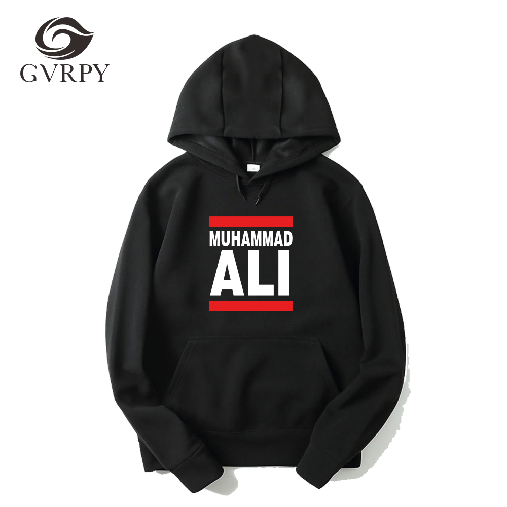 New Winter Autumn Muhammad Ali Officially Licensed Adult Hoodies Women Men's Fashion Plus Size Loose Casual Harajuku Sweatshirts
