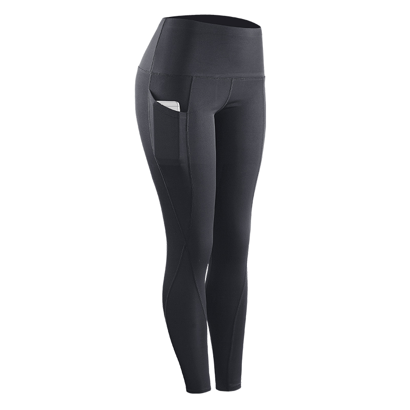 Quick-drying High-rise Sports Yoga Tight Trousers Breathable Elastic Compression Running Pants Newest