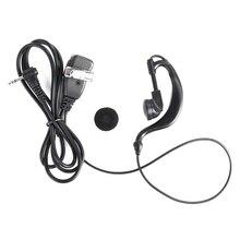 Портативный Зажим для наушников для Motorola Радио Walkie Talkie T80 T80EX G shape Soft Ham радио наушники с микрофоном гарнитура