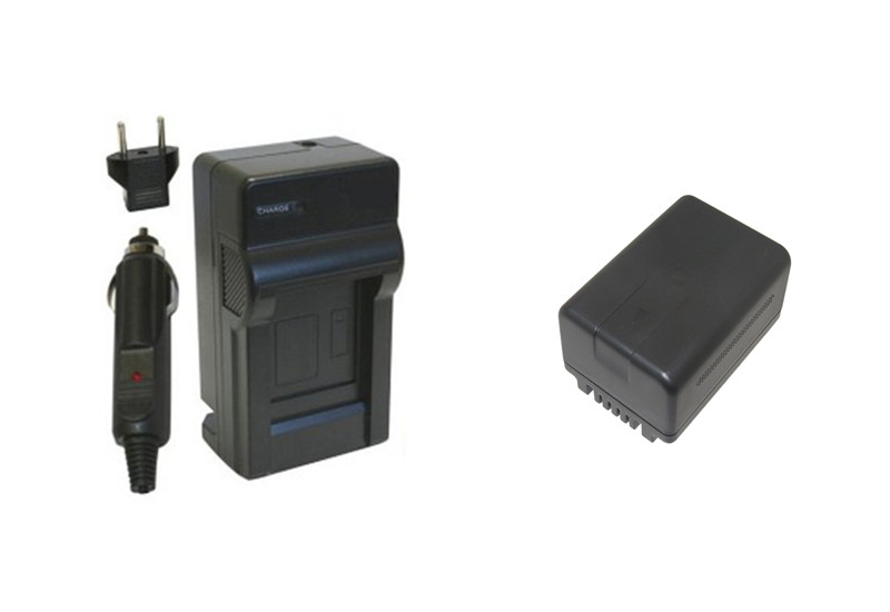 Prix pour VW-VBT190 VBT190 VW-VBT380 VBT380 Batterie + Chargeur pour Panasonic HC-V720, HC-V727, HC-V730, HC-V750, HC-V757, HC-V770, HC-VX870.