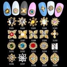 Высококачественные Стразы для ногтей очаровательные украшения