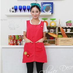 Hot sleeveless high qaulity kindergarten clothes kitchen apron for woman cooking coffee tea nail shop work.jpg 250x250