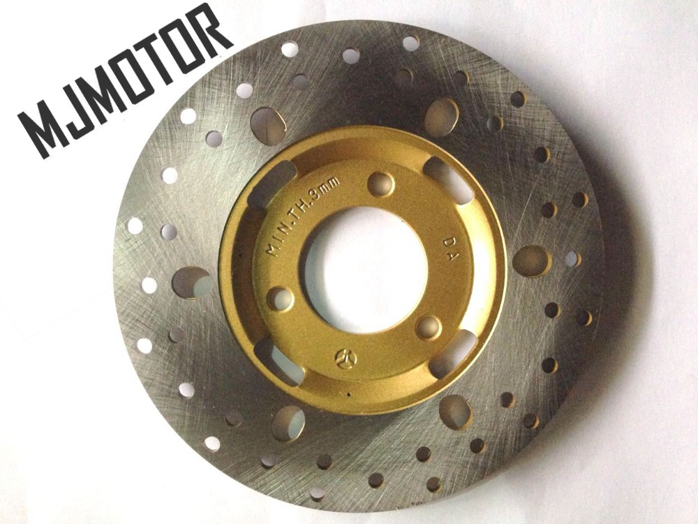 ZY125CC Front Brake Disc 180mm Dia. For YZ 150 QJ Keeway Chinese Scooter Honda Yamaha Motorcycle ATV Moped Go Kart Part keoghs motorcycle brake disc brake rotor floating 260mm 82mm diameter cnc for yamaha scooter bws cygnus front disc replace