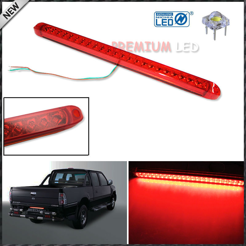 "18"" Trunk Tailgate Red LED Light Bar For Tail Brake Light ..."