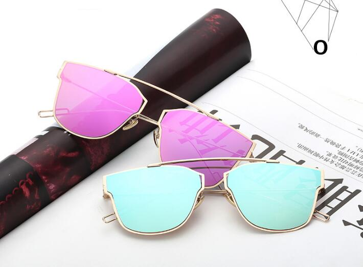 cheap wholesale sunglasses 9udj  Manufactures Wholesale China Sunglasses Fashion New Style Reflective  Personality Metal Sunglasses