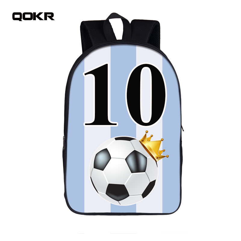 2018 Dab Foot Ball Star Number 7 10 Backpack For Teenage Boy Children School Bags for Russia Student Book Bag Kids