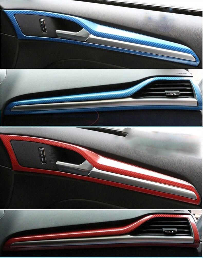 10/20 / 30x152CM Super Glossy 5D Kolfibervinyl med luftbubblor 5D - Exteriör biltillbehör - Foto 4