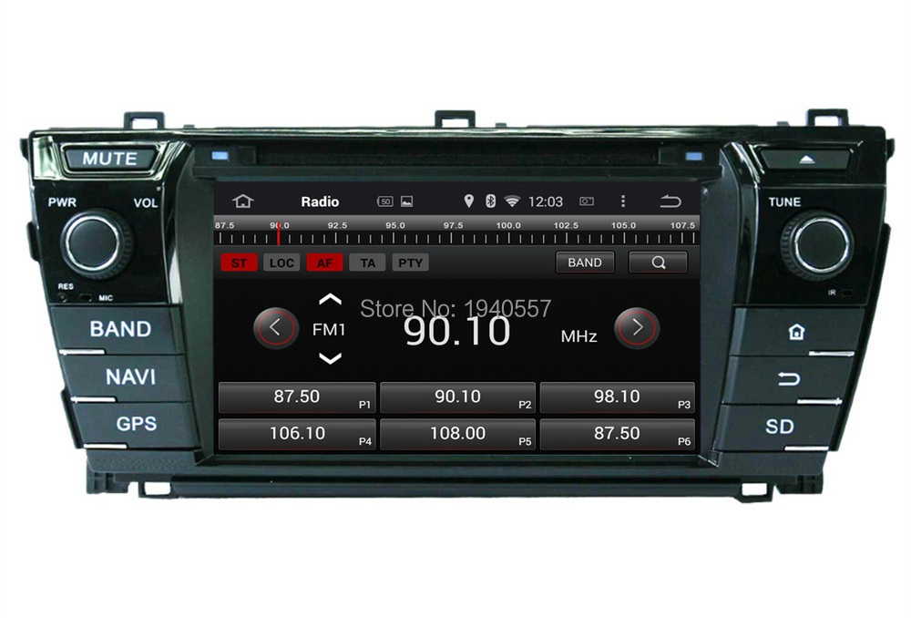 Quad Core 1024 600 Android 5 1 HD 2 din 7 Car Radio dvd gps for