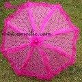 Бесплатная Доставка Смешанных Цветов Свадебные Душ Кружевной Зонтик Невесты Зонтик Зонтик