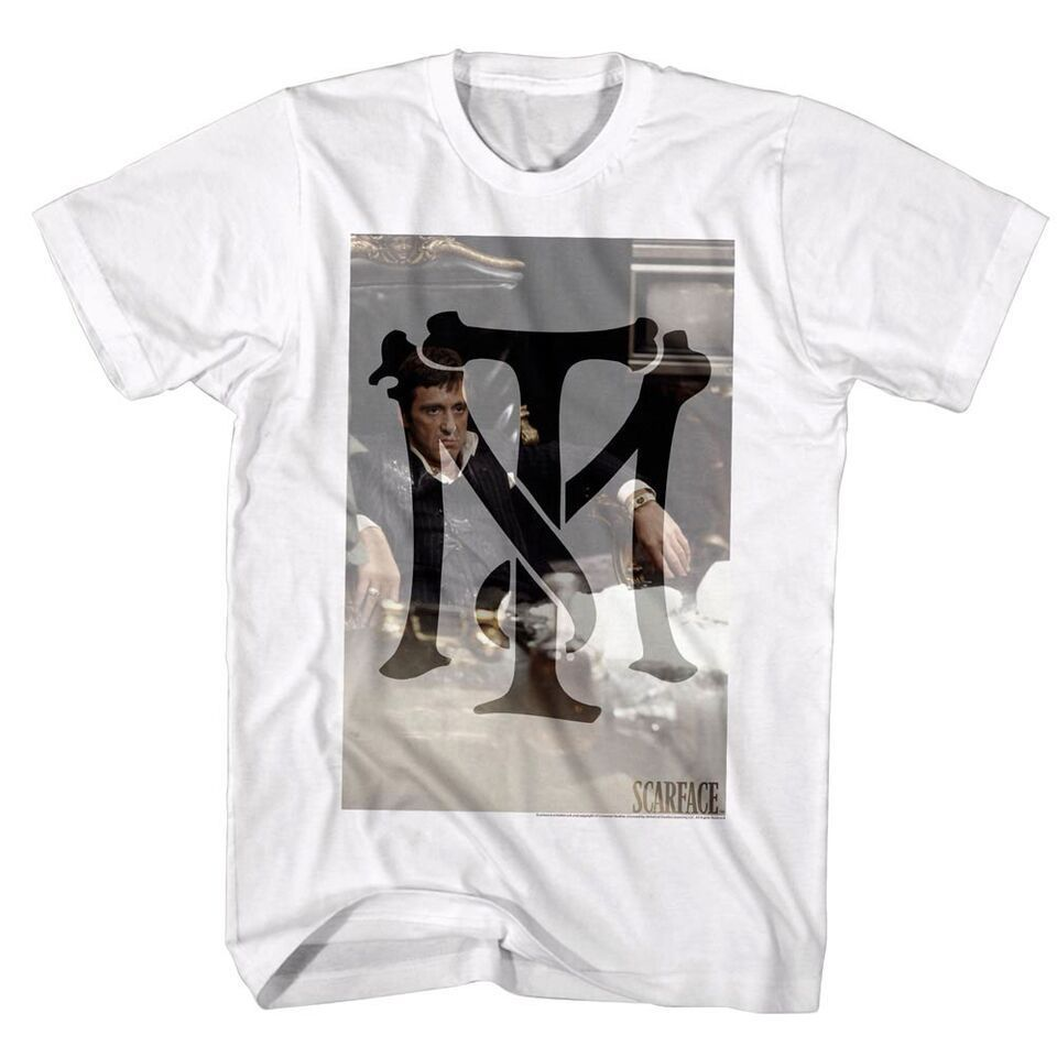 Official Scarface Tony Montana Symbol Mens T Shirt S 5xl In T
