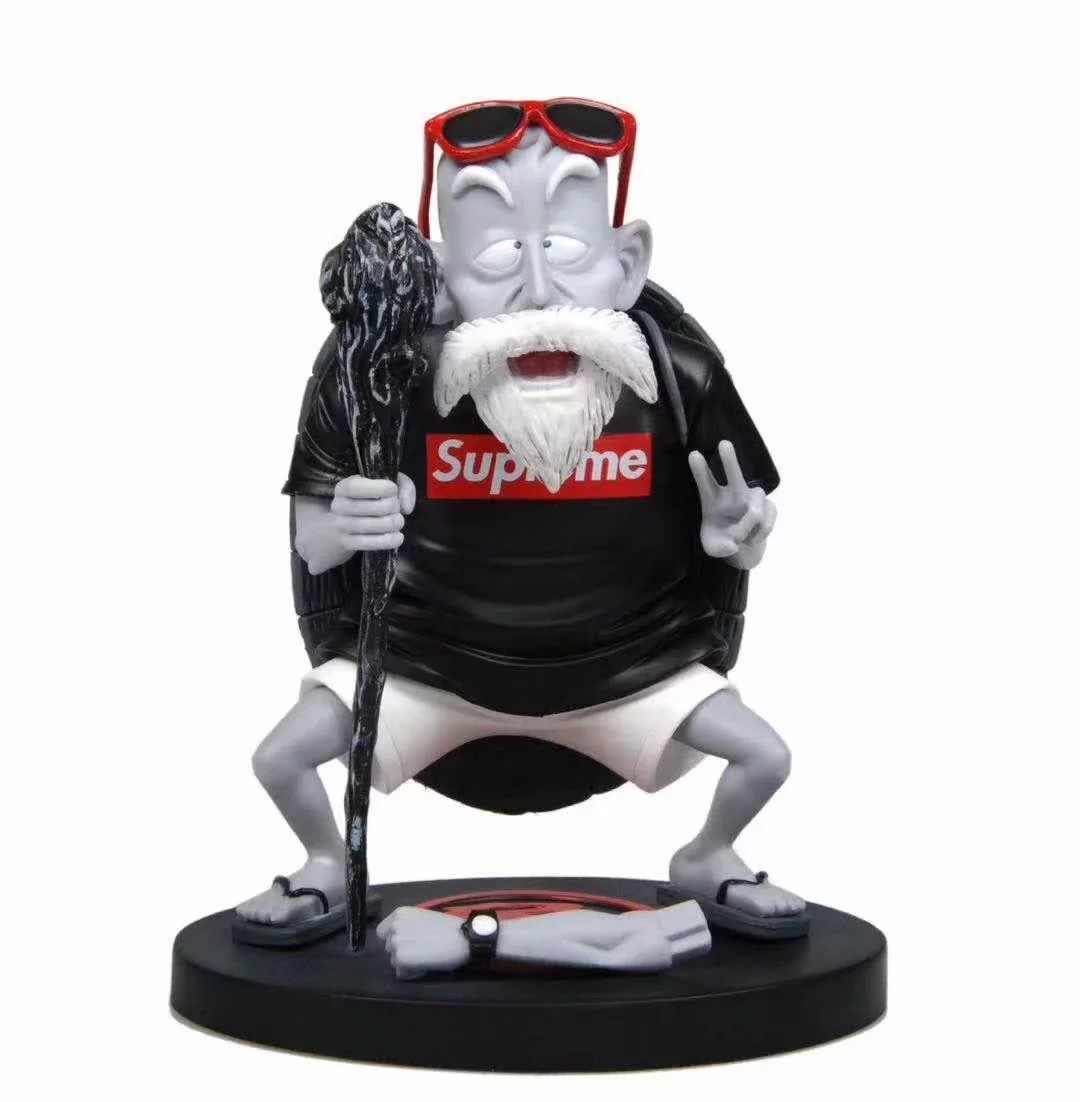 17cm Japamese amime figura dragon ball Mestre Kame action figure collectible modelo brinquedos para meninos