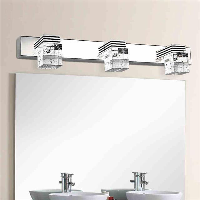 3 light crystal bathroom light fixtures led 9w waterproof bath wall 3 light crystal bathroom light fixtures led 9w waterproof bath wall sconces light aluminum wall aloadofball Gallery