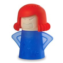 New Metro Angry Mama Cleaning Microwave Cleaner Cooking Kitchen Gadget Tools With Package 4 color