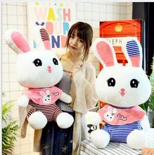 WYZHY Creative cute rabbit doll big eye sofa bedroom decoration send friends children gifts 40CM