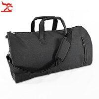 Portable Men Business Suit Storage Bag Travel Garment Protector Shoe Carrier Bag