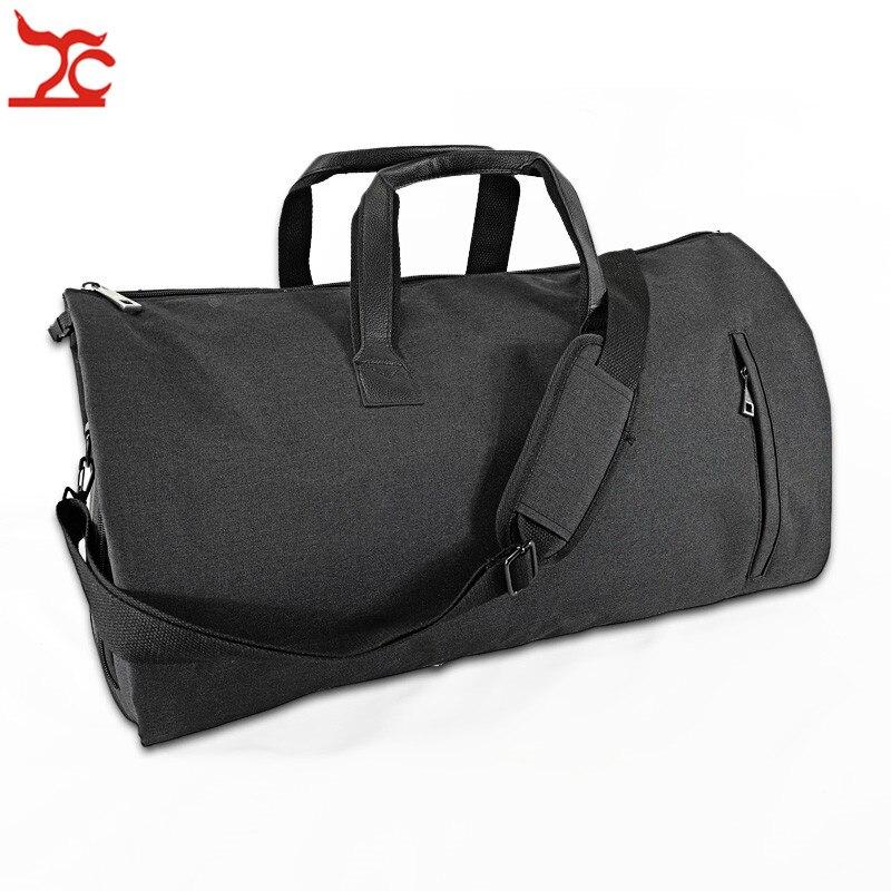 Portable hommes d'affaires costume sac de rangement voyage vêtement protecteur chaussure transporteur sac