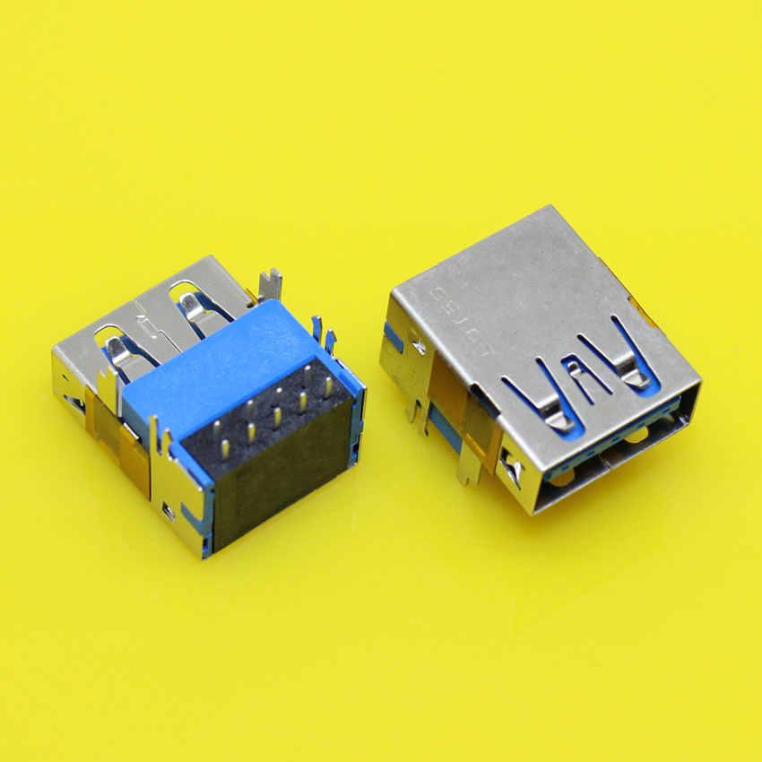 US-173 pojedyncze wysokiej wzrost USB 3.0 złącze typu A dla Asus Dell Inspiron 15R-5520 5525 7520 vostro 3560 itp USB3.0 porty Jack