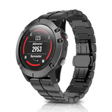 Horlogeband Strap Voor Garmin Fenix Lichter Harder Titanium Quick Release Luxe Wirstband Voor Garmin Fenix 5X