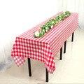 BALLE пластиковые вечерние одноразовые скатерти крышка стола прямоугольная Открытый Пикник барбекю свадьбы - фото