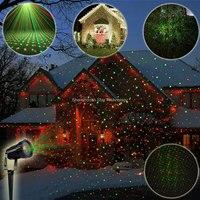 ESHINY Outdoor Waterproof R G Laser Full Stars Patterns Projector Landscape Xmas Garden Party Tree DJ