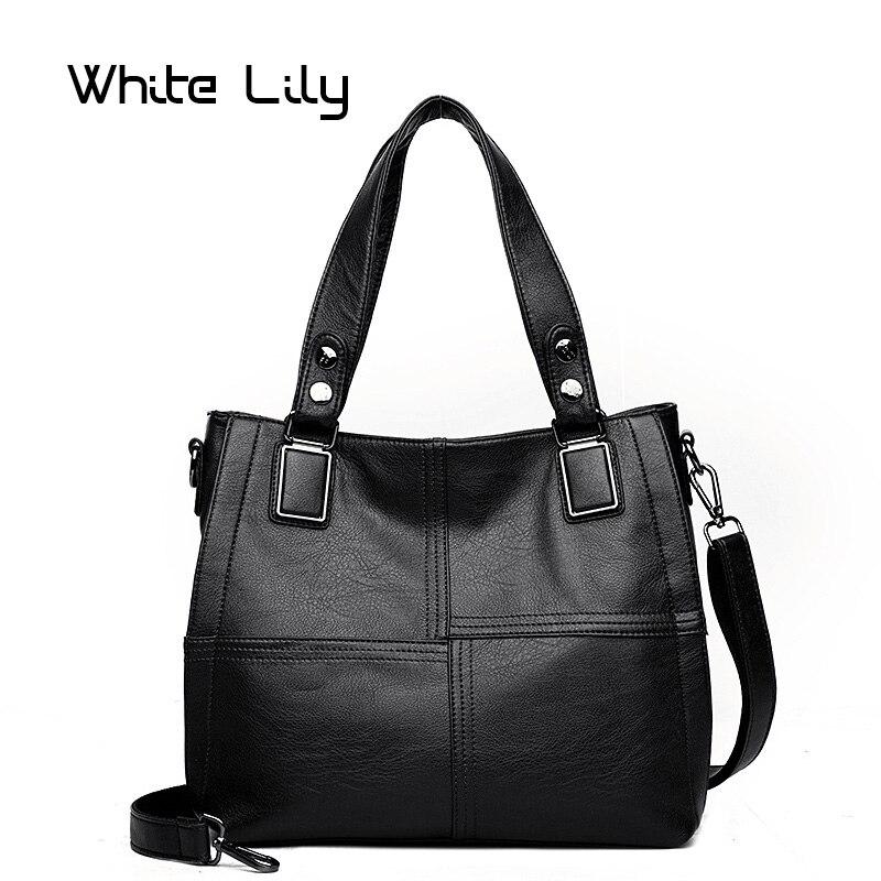 Новая модная Роскошная Лоскутная Женская сумка Дизайнер Высокое качество Мягкие из искусственной кожи женская