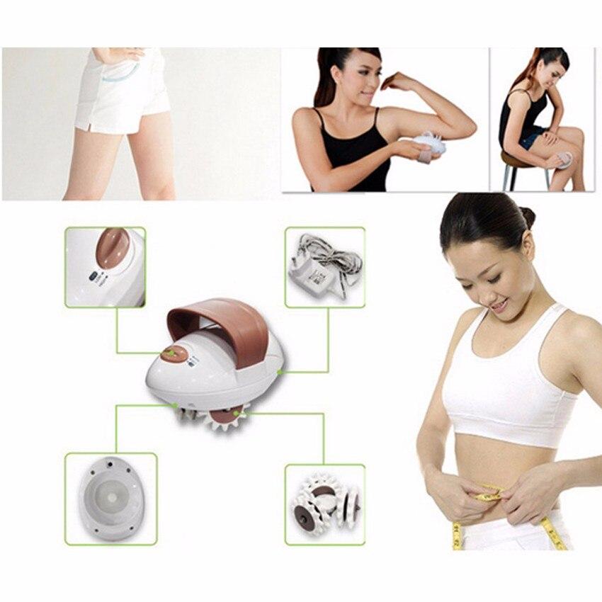2018 New Loss Weight Electric Body Massager Slender Fat Burning Slim Massage Burn Fat Anti Cellulite Massageador Roller Machine стоимость