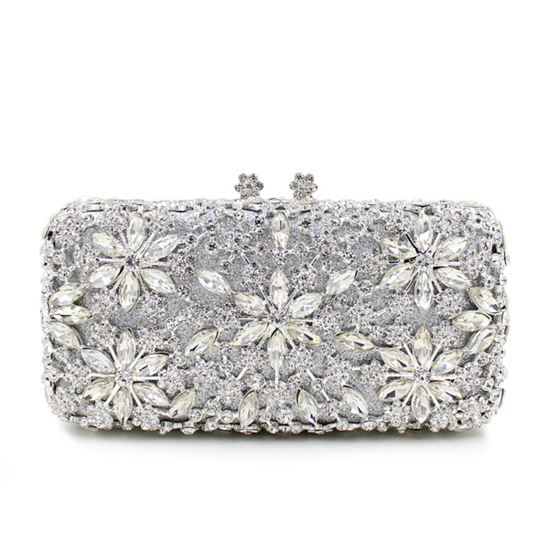 2017 Limited Rushed Flap Satin Day Clutches Single European Luxury High-grade Diamond Dinner Full Evening Bag Hand Bride Hard. for hot sale sale flap day clutches the 2017 straight priced luxury dinner bag double diamond phoenix full engraved with empty