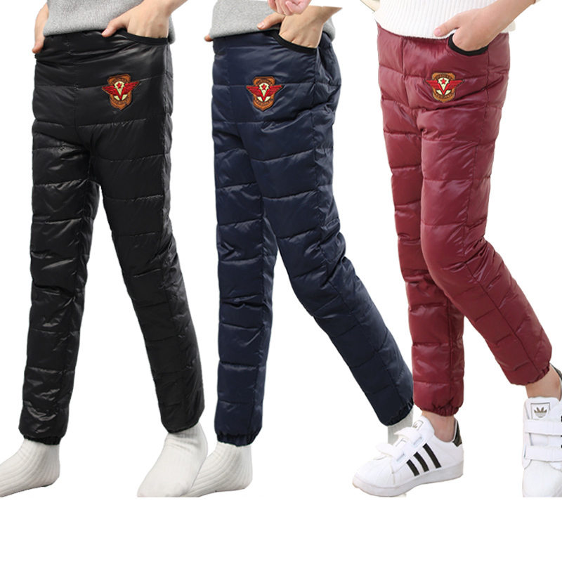 b6851a2ee New arrival Children pants girls Autumn Winter Thicken Solid ...