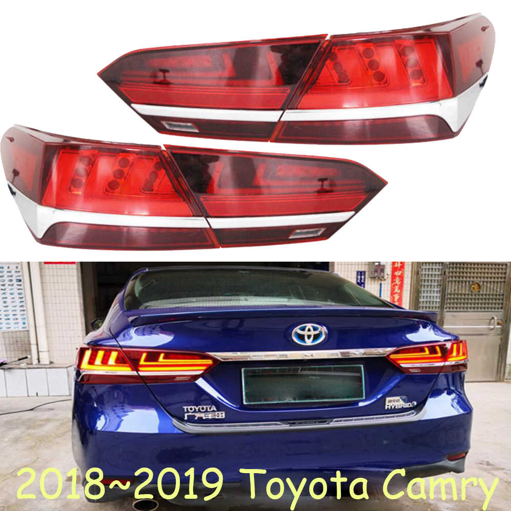 hight resolution of dynamic moving 2018 2019 camry taillight led camry rear light car