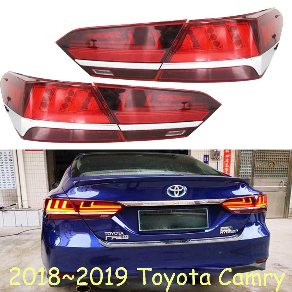 medium resolution of dynamic moving 2018 2019 camry taillight led camry rear light car