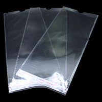 11 5 24 3cm Clear Plastic Self Adhesive OPP Package Bag For Socks Stockings Packaging With