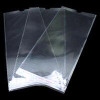 11.5*24 3 cm Clear Plastic Zelfklevende OPP Pakket Tas Voor Sokken Kousen Verpakking Met Hang Gat Poly Display Verpakking Zakken