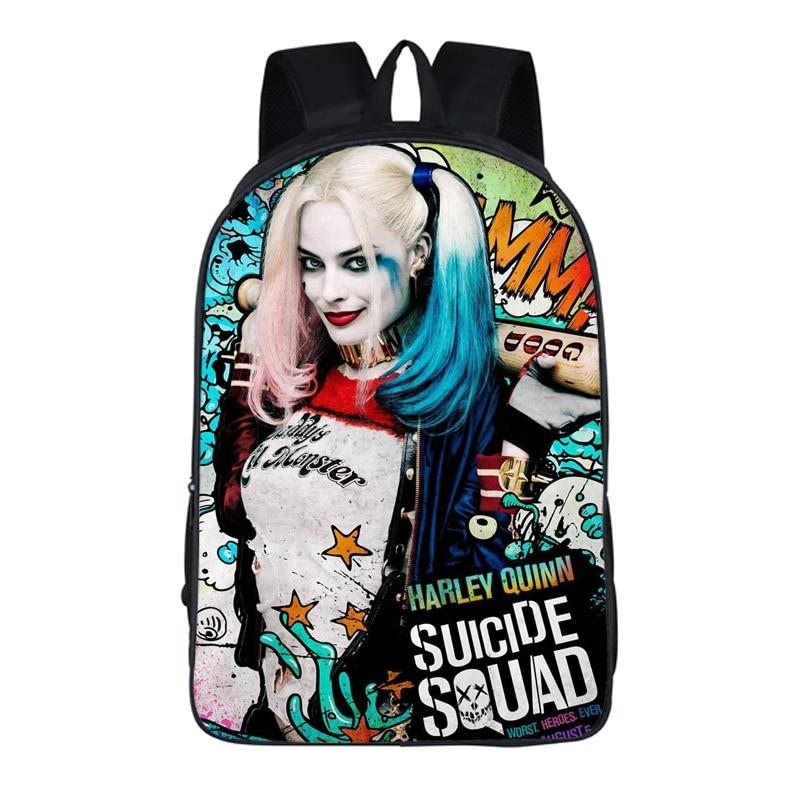 DC Suicide Squad Harley Quinn Sac /à Dos A