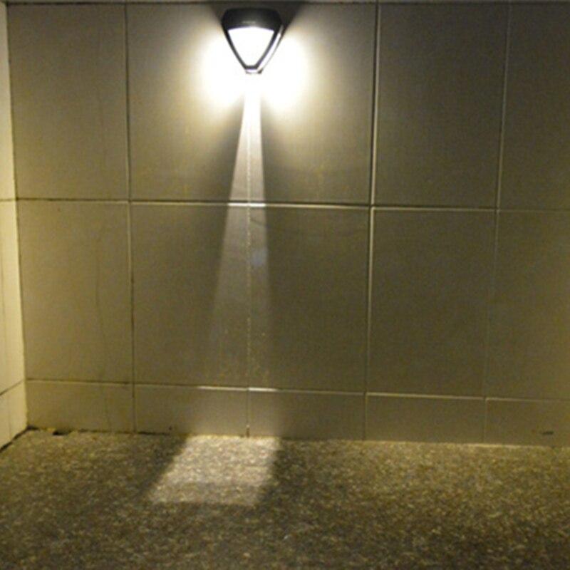 2pcs de poupanca de energia led luz solar ao ar livre 2 led de energia solar