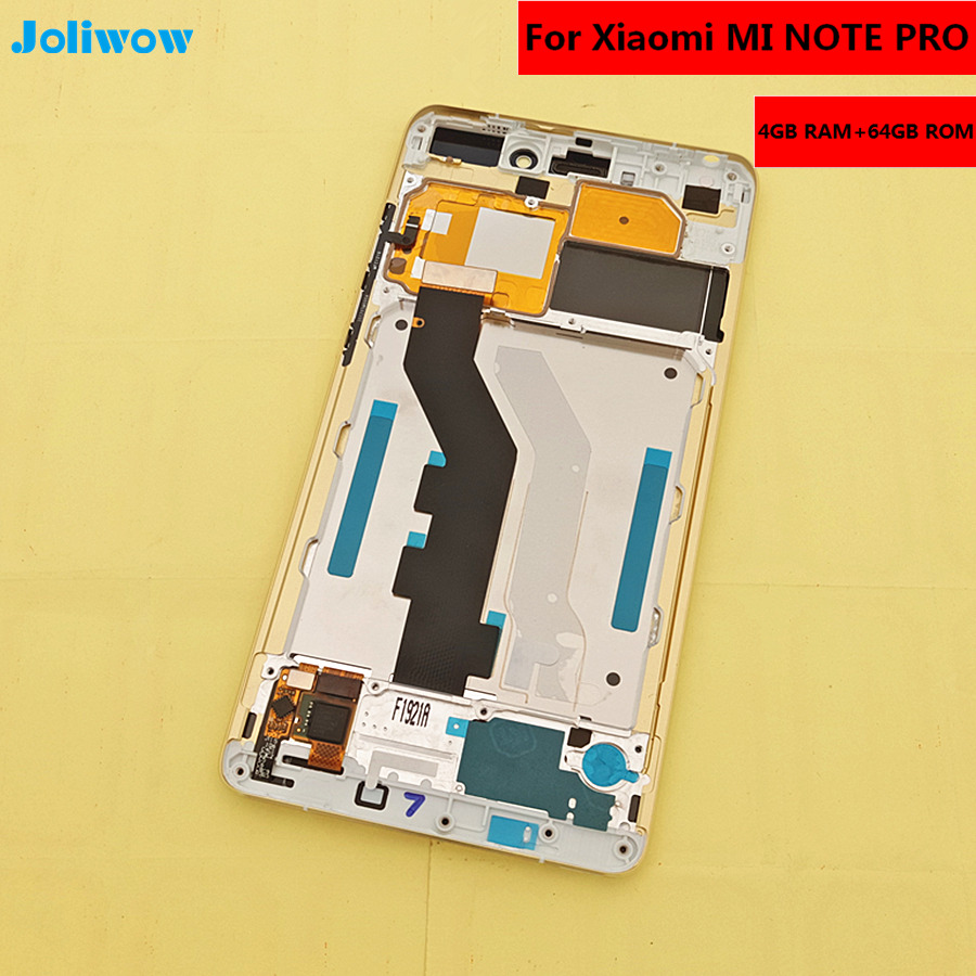"""5.7"""" FHD For Xiaomi MI NOTE PRO LCD Display Touch Screen+tools With Frame Replacement Parts"""
