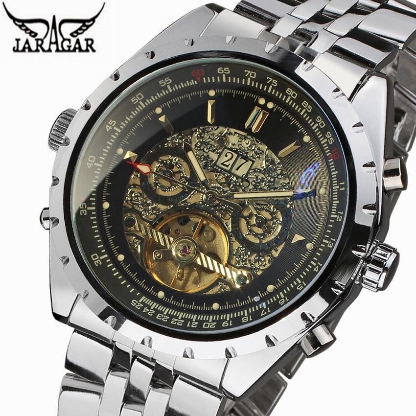 2018 Jaragar Men Watches Dress Wrist Mechanical Watches Luxury Top Brand Automatic Flying Tourbillon Watches Relogio