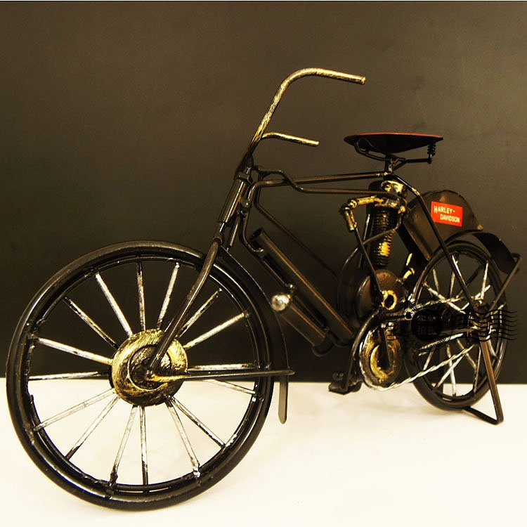 Online kopen wholesale ijzer fiets uit china ijzer fiets for Metalen decoratie fiets