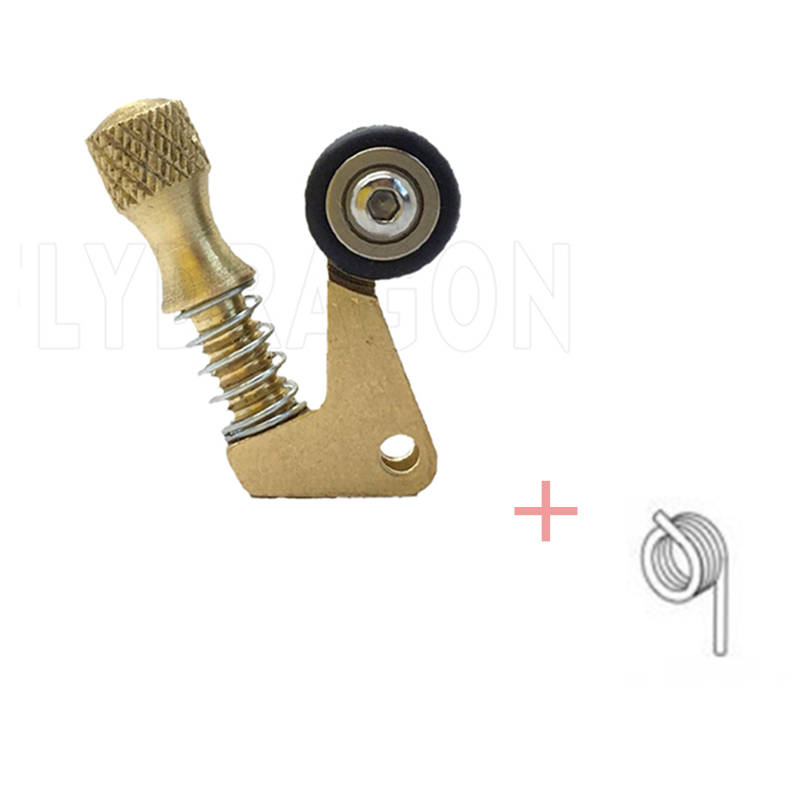 One Brass Needle Bar Retainer With Spring For Rotary Tattoo Machine Parts Supply -- TMP-119A