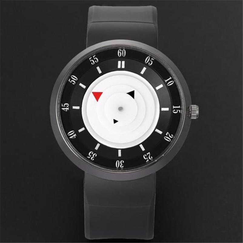 2017 New Fashion Men s Luxury Concept Stainless Steel Analog Quartz Sport Wrist Watch relogio masculino