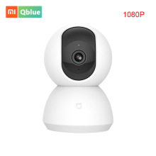 Xiaomi Mijia Smart Camera Cradle Head Version 1080P New Version 360 Degree Night Vision Webcam IP Cam Camcorder For Smart Home 2018 new xiaomi mijia 1080p smart camera ip cam webcam camcorder 360 angle wifi wireless night vision for mi smart home app