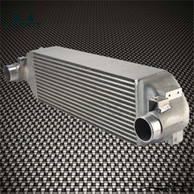 FMIC Front Mount Intercooler For Ford Focus RS 2016-2018 Silver / Black