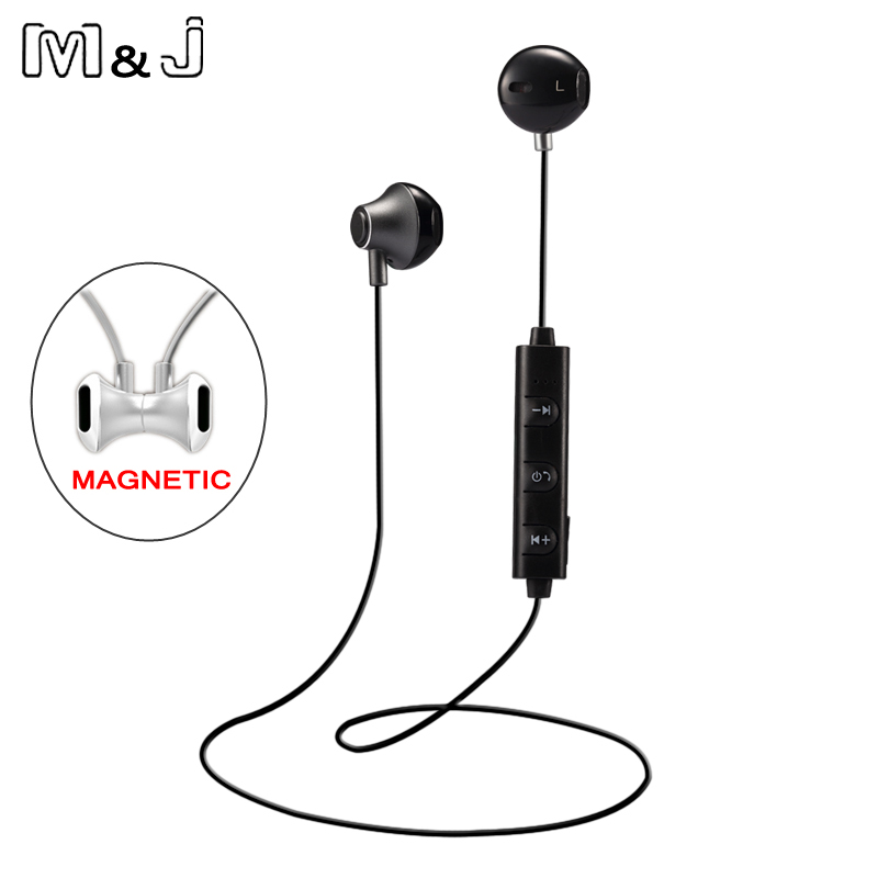 M&J 820 La mitad en el oído Auriculares inalámbricos Bluetooth - Audio y video portátil