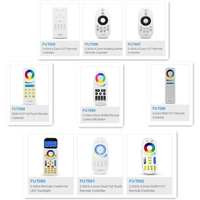 Control remoto Mi luz 2,4G 4 zonas LED botón/táctil RF inalámbrico remoto FUT005 FUT006 FUT007 FUT089 FUT096 FUT092 FUT091 2,4G/5G 4K WiFi inalámbrico reflejo Cable HDMI Cable adaptador 1080P Dongle para IPhone Samsung Xiaomi Huawei teléfono Android TV