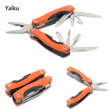 Yalku Hot Sale! Pliers Tool Multitool Pliers Folding Knife Files Jaw Saw Outdoor Camping Multitool Pliers Knife Bottle Opener