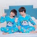 Flanela pijamas para crianças 2016 meninos inverno Meninas velo Coral quente de manga comprida conjuntos de pijama Em Casa da criança caçoa o presente de Natal